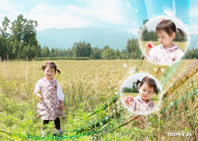 超清儿童相片风景图片