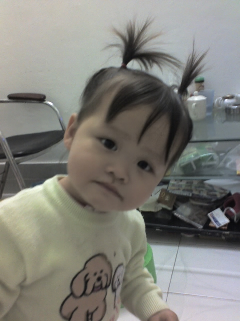 儿童发型男孩子三毛