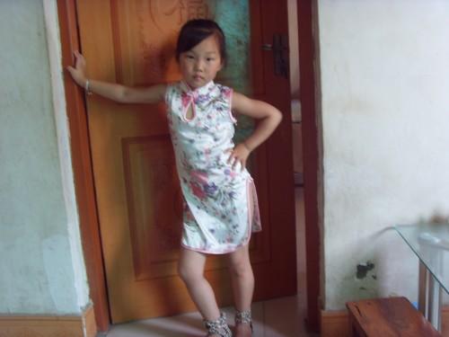 我的小旗袍 - 儿童模特 - 中国童装网