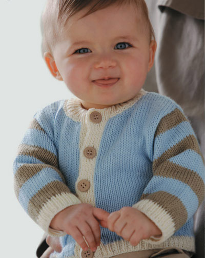 可爱宝宝的初冬毛衣(一)_中国童装网