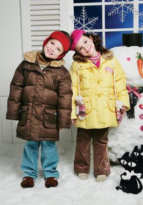 儿童新春服装搭配 展现可爱宝宝的童真