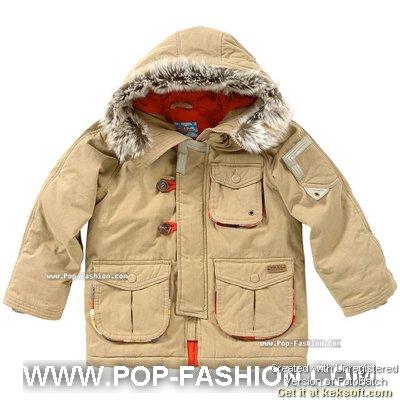 童装新闻  时尚文化 韩国08秋冬童装可爱外套新款(二)