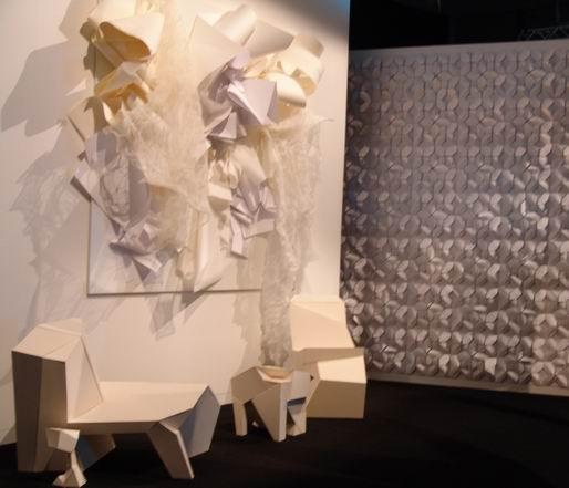 异形折纸结构展开图