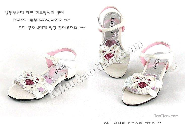 07韩版儿童凉鞋(一)