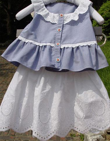 可爱宝宝的韩版服装(2)