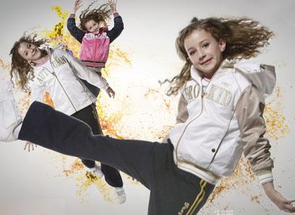 青蛙皇子 2008秋季女童装系列