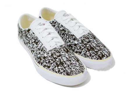 迷彩帆布鞋 法国鳄鱼新款