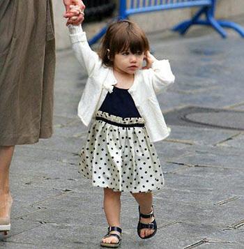 时尚可爱明星孩子图片