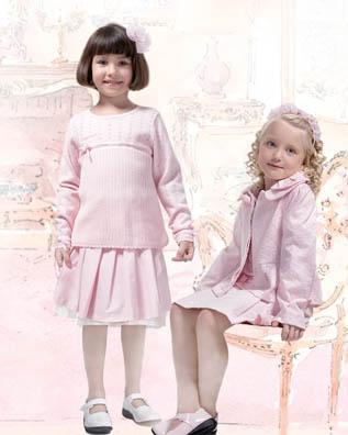 法纳贝儿童装 小公主风格精致