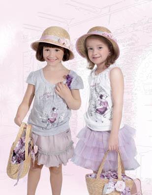 法纳贝儿童装 小公主风格精致,可爱