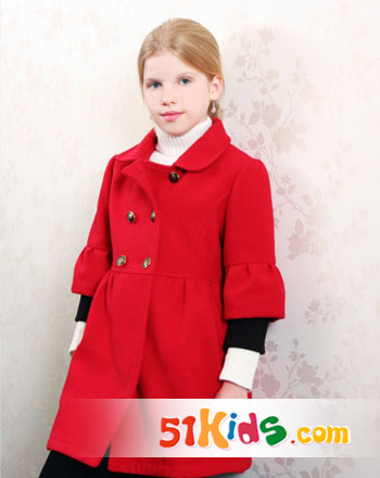 加盟代理qq_儿童时尚可爱冬大衣_中国童装网