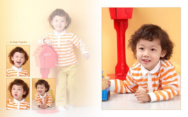 超级可爱的韩国小童星