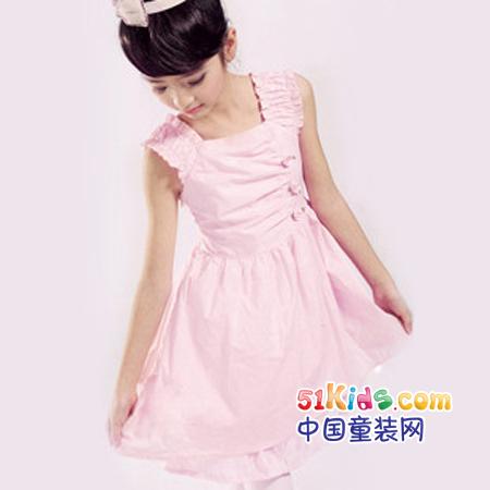 2011儿童夏季连衣裙_服装设计