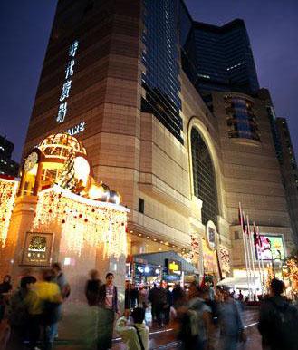 香港铜锣湾时代广场