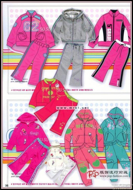 07韩国童装设计手稿及款式17