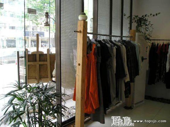 非主流服装店面装修设计效果图片方案,非主流服装店不走