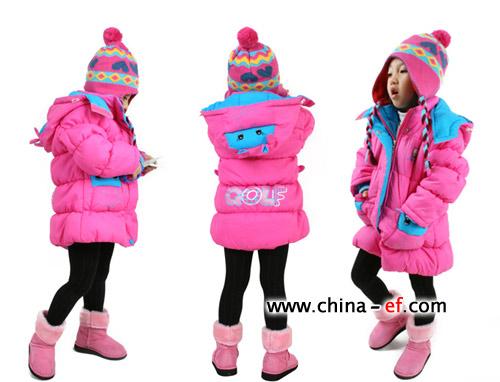 可爱公主 韩国时尚儿童服装巧搭配(2)
