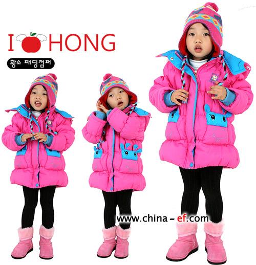 韩国时尚儿童服装巧搭配(1)