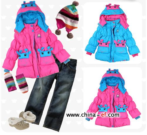 可爱公主 韩国时尚儿童服装巧搭配(1)