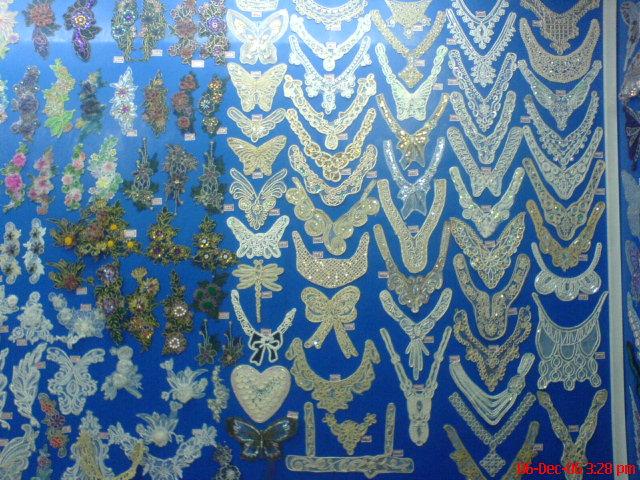 布上获得条形花纹图案