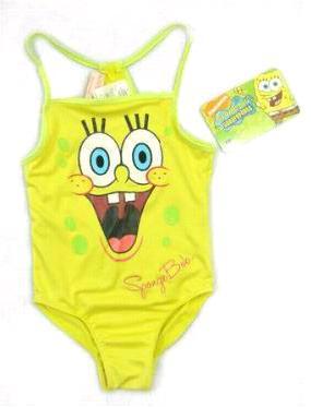 夏日儿童泳装 卡通相伴童趣乐无穷