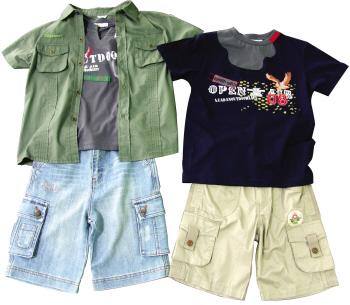 幼儿园环保服装手工制作小男孩