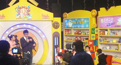 迪猫之梦童装参与《超级童星汇》节目现场录制2011-03-24 12:06-迪猫
